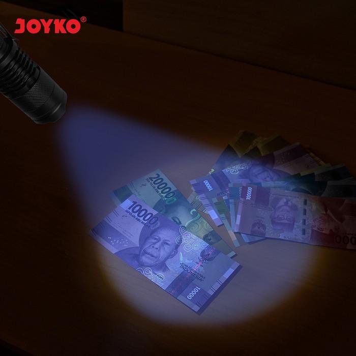 Foto Produk Senter LED Ultraviolet Flashlight Joyko FL-90UV |Pendeteksi Uang Palsu dari officemart