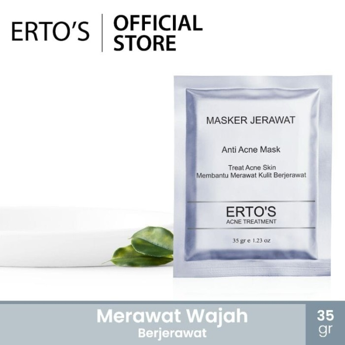 Foto Produk Masker Jerawat Erto's dari Erto's Official Shop