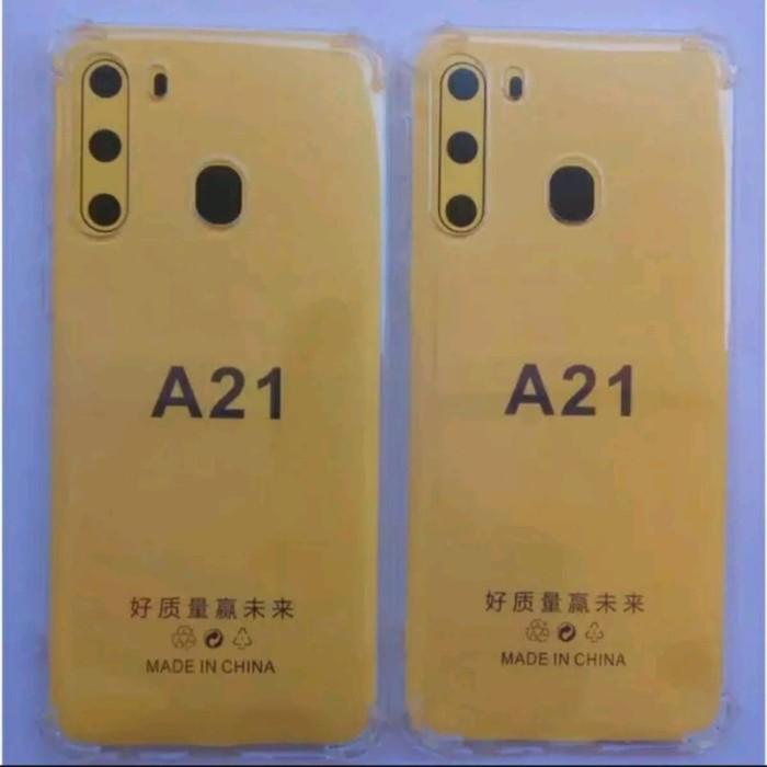 Foto Produk softcase jeli Samsung A21 anticrack softcase jeli samsung A21 anticrck dari vivan cell