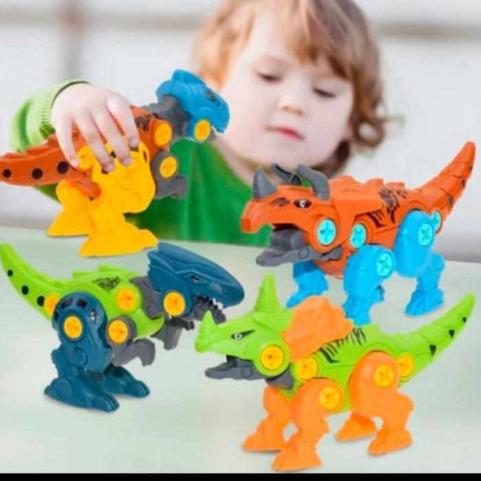 Foto Produk Mainan anak Bongkar pasang Dinosaurus-Assembly of Dino dari AUTO KID II