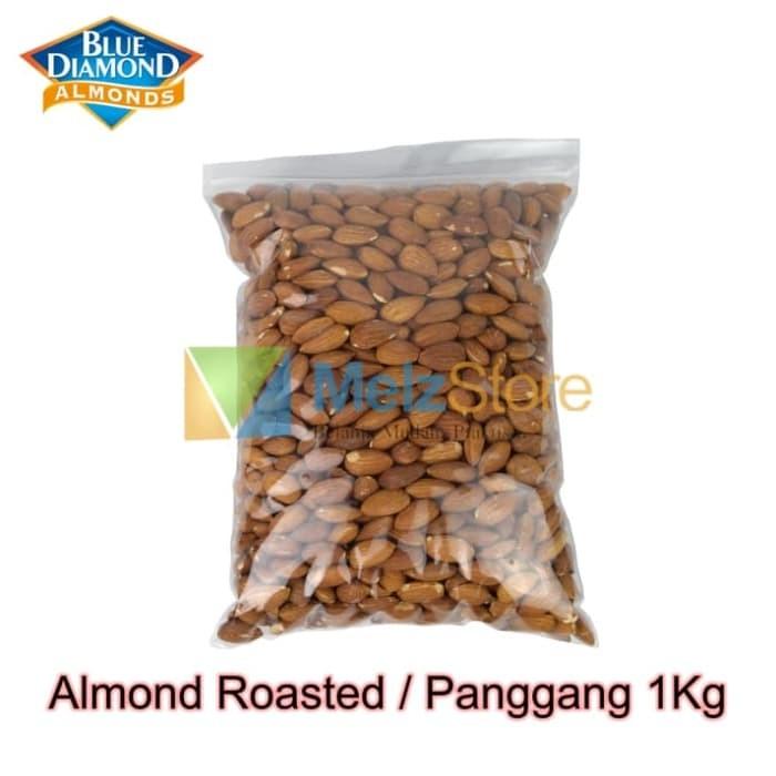 Foto Produk Kacang Almond Panggang Blue Diamond Roasted 1kg dari MelzCorp