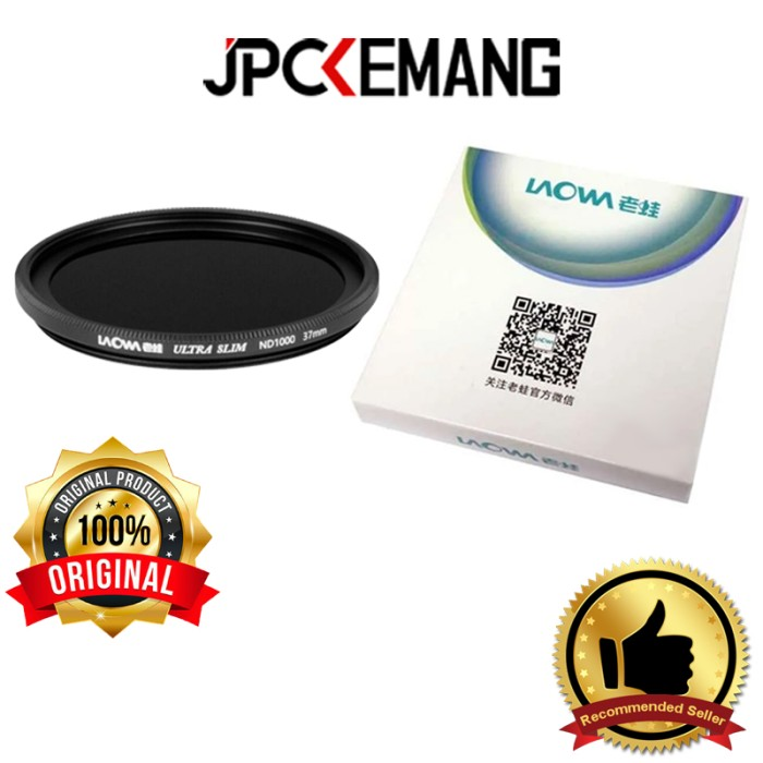 Foto Produk Filter ND1000 37mm Laowa Ultra Slim ND1000 37mm ORIGINAL dari JPCKemang