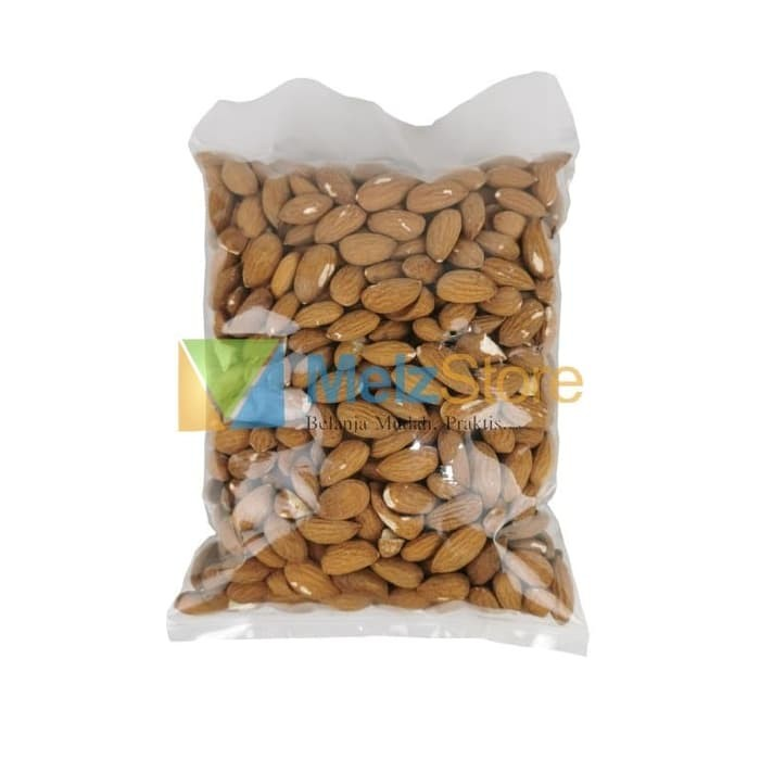 Foto Produk 500gr Kacang Almond Panggang Blue Diamond Roasted dari MelzCorp