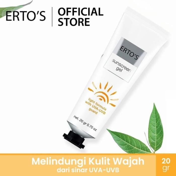 Foto Produk Erto's Sunscreen Gel dari Erto's Official Shop