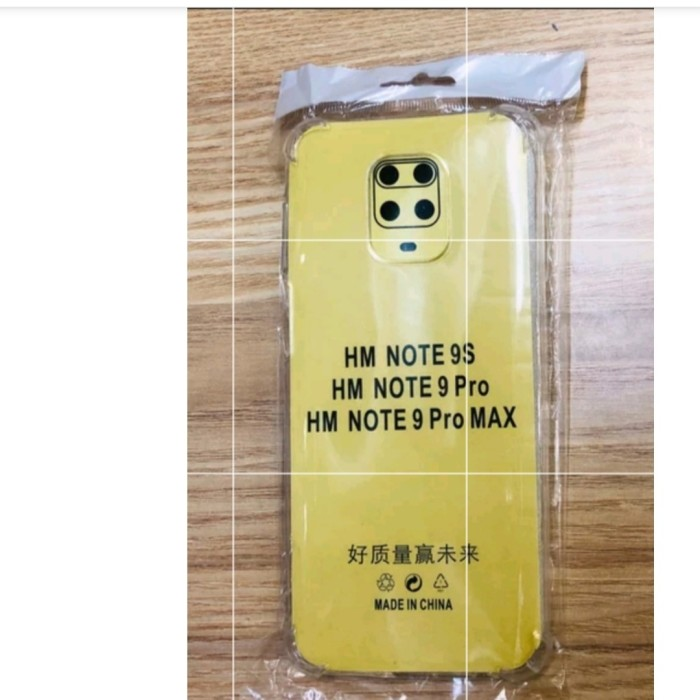 Foto Produk softcase jeli anticrack xiaomi redmi note 9 softcase xiaomi note 9 dari vivan cell
