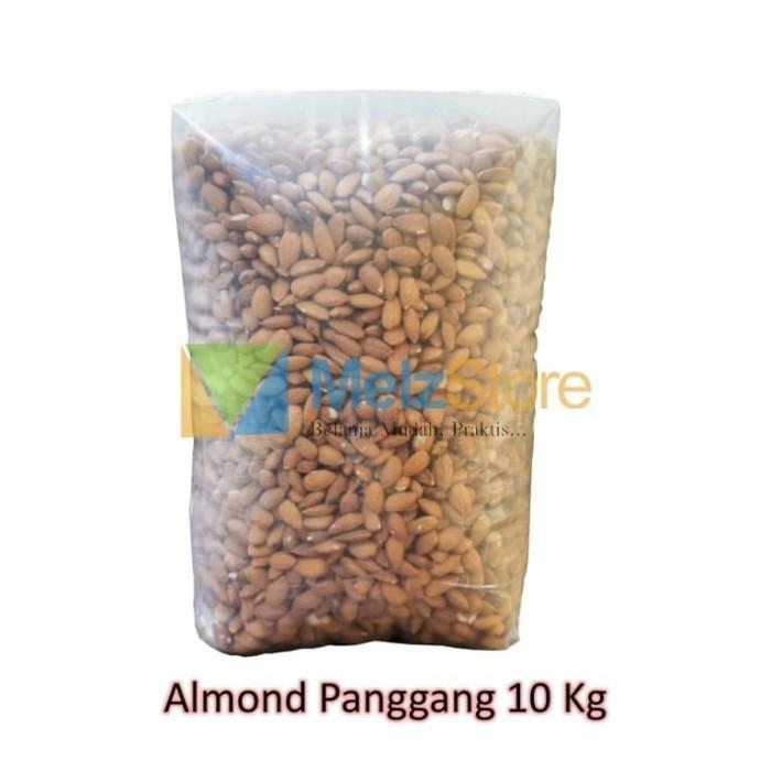 Foto Produk 10kg Kacang Almond Panggang Kupas Roasted dari MelzCorp