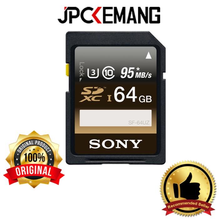 Foto Produk Sony SD Card SDHC SDXC 64GB UHS-I Read 95MB/s Write 90MB/s ORIGINAL dari JPCKemang