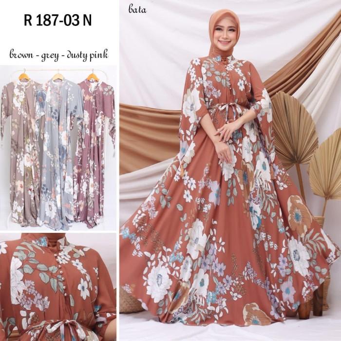 Foto Produk Gamis Luna Maya Dress Rayon(adem.dingin)jumbo size fit to 2L.3L.4L dari Winnie Collection