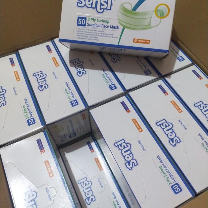 Foto Produk Masker Sensi Earloop ori box isi 50pcs dari REJODADI1