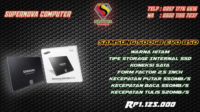 Foto Produk SAMSUNG 500GB EVO 850 dari Supernova Computer Ariet
