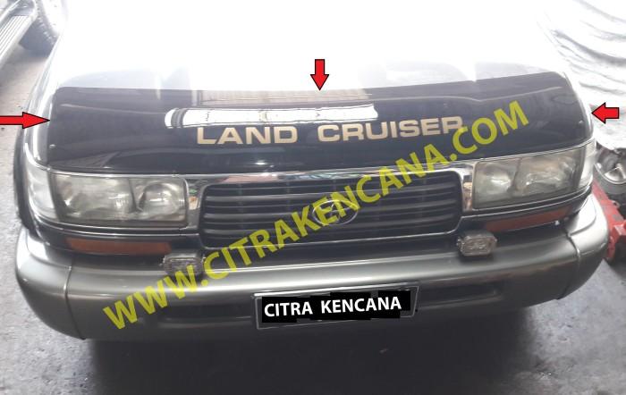 Foto Produk DEFLECTA DEPAN LANDCRUISER VX80 dari CITRA KENCANA