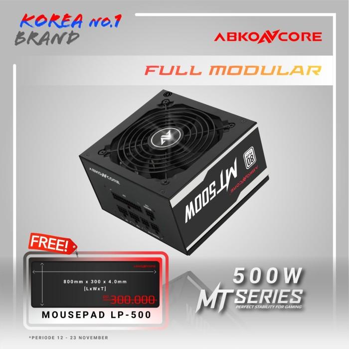 Foto Produk Abkoncore Mighty 500 Watt 80+ Full Modular dari PT. RNN