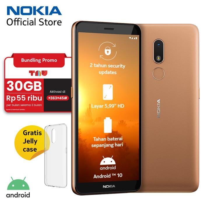 Foto Produk Nokia C3 2/16GB - Sand dari Nokia Official Store