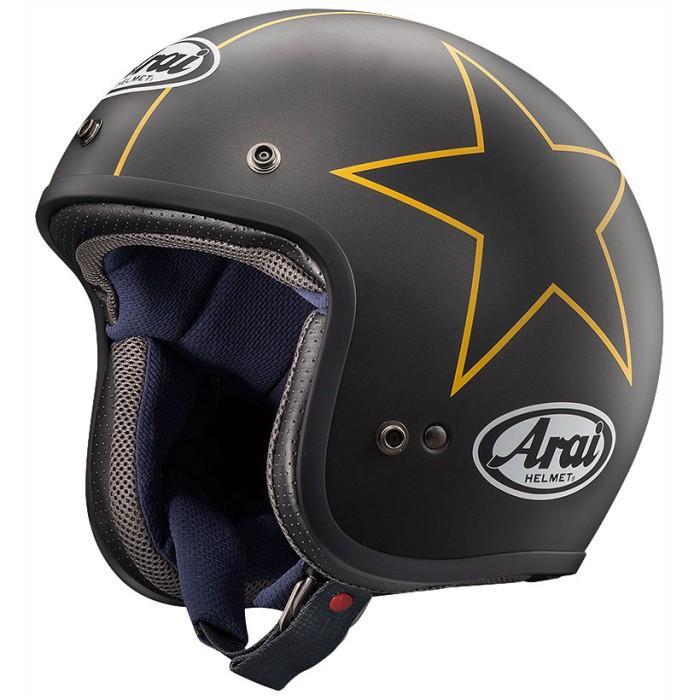 Foto Produk Arai SNI CLASSIC MOD STARS Helm Retro - Yellow - L dari Arai Indonesia