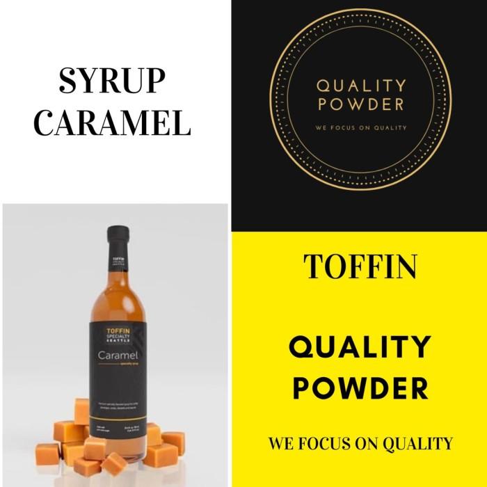 Foto Produk SIRUP RASA CARAMEL TOFFIN / SYRUP FLAVOURED CARAMEL TOFFIN 750ml dari QualityPowder