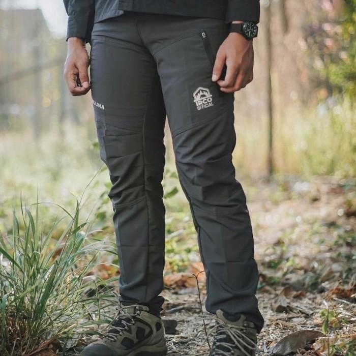 Foto Produk Celana Panjang Gunung Quickdry - Outdoor Tactical Hiking Touring Pants - Biru, M dari Travelonest