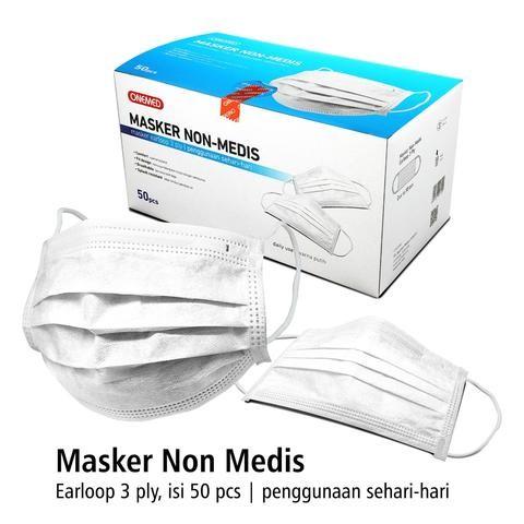 Foto Produk ONEMED MASKER NON MEDIS 3 PLY dari Daya Prima Alkes