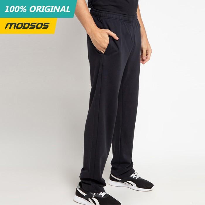 Foto Produk Celana Panjang Training Pria Reebok Logo Black Original dari Modsos