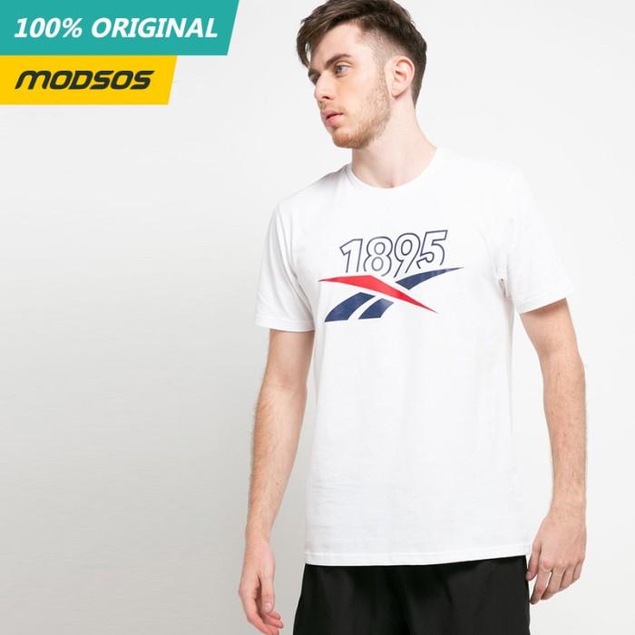 Foto Produk Kaos Pria Reebok Logo White 179 Original dari Modsos