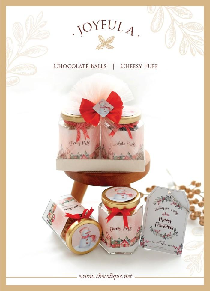 Foto Produk Joyful A Hampers Parcel Natal dari Chocolique