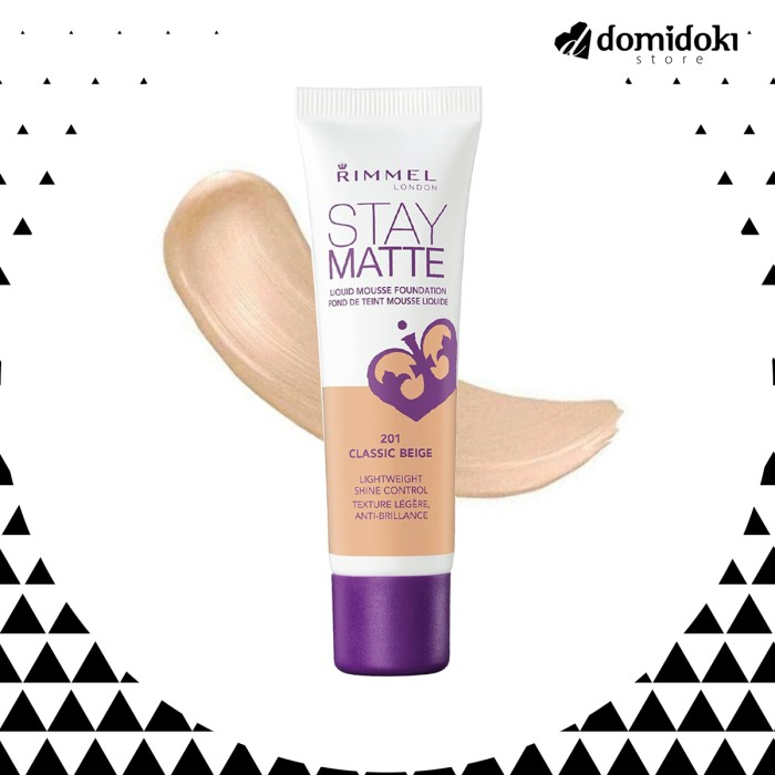 Foto Produk Rimmel London Stay Matte Liquid Mousse Foundation dari Domidoki Store