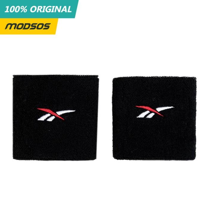 Foto Produk Wristband Reebok Katun Logo Black Original dari Modsos