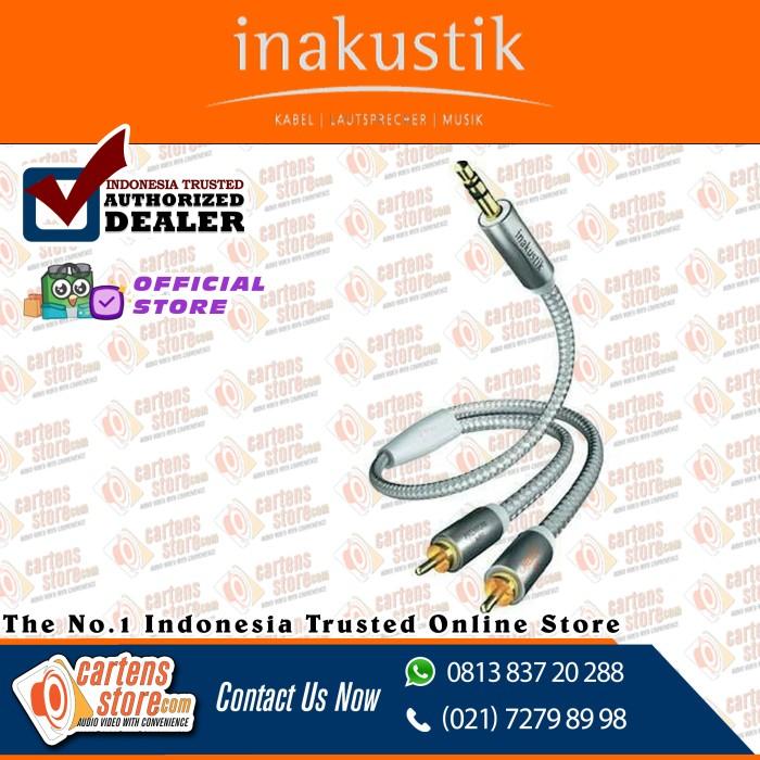 Foto Produk kabel audio aux inakustik mini to rca premium series 1.5m by Cartens dari Cartens Store