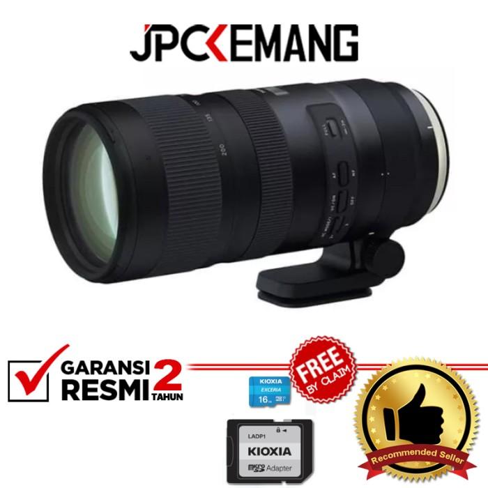 Foto Produk Tamron for Canon SP 70-200mm F/2.8 Di VC USD G2 GARANSI RESMI dari JPCKemang