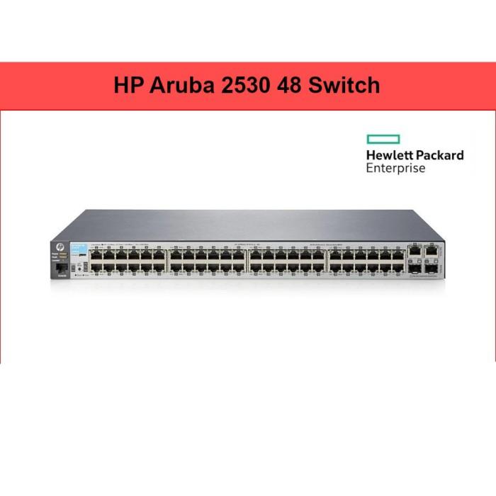 Foto Produk HPE Aruba J9781A 2530-48 Switch Managed 48 Port 10/100 + 2Giga + SFP dari Jual Game Xbox