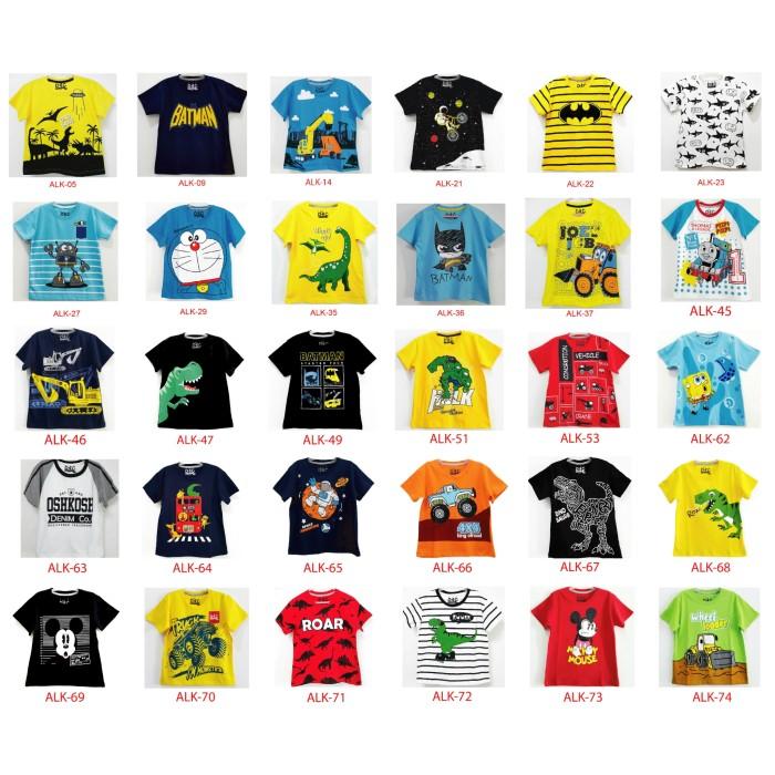 Foto Produk Baju Atasan Anak Laki Laki Karakter 1-6 Tahun New dari Baju Anak Kitaa