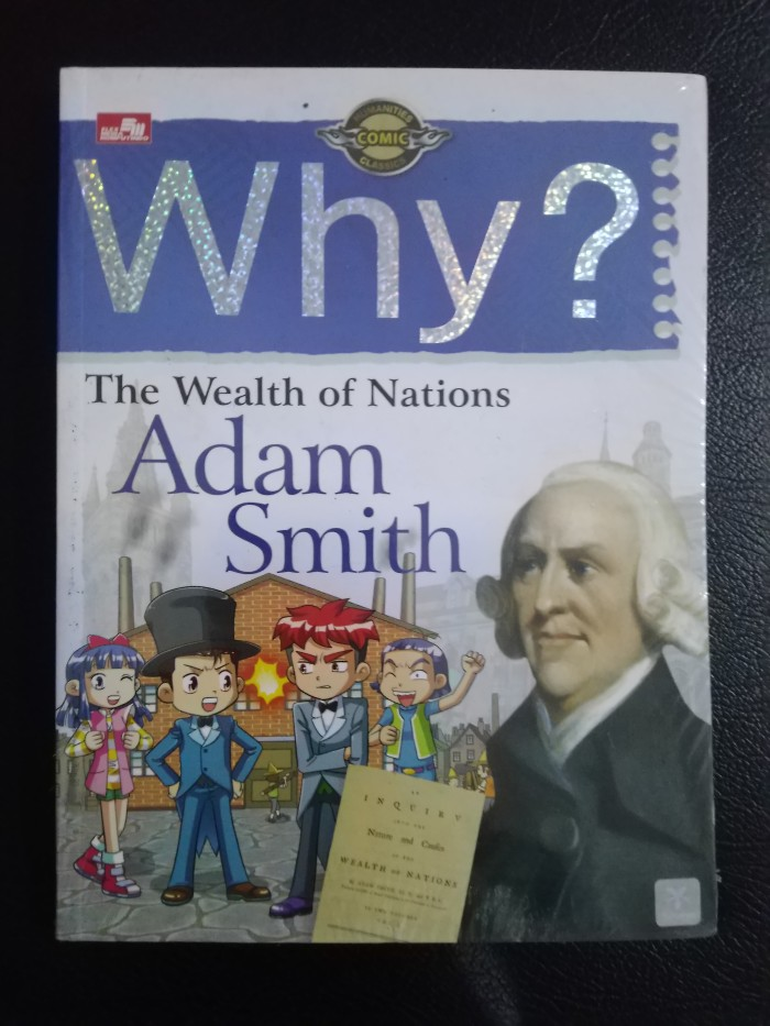 Foto Produk Why? The Wealth of Nations (Adam Smith) - UR dari Toko Buku Uranus