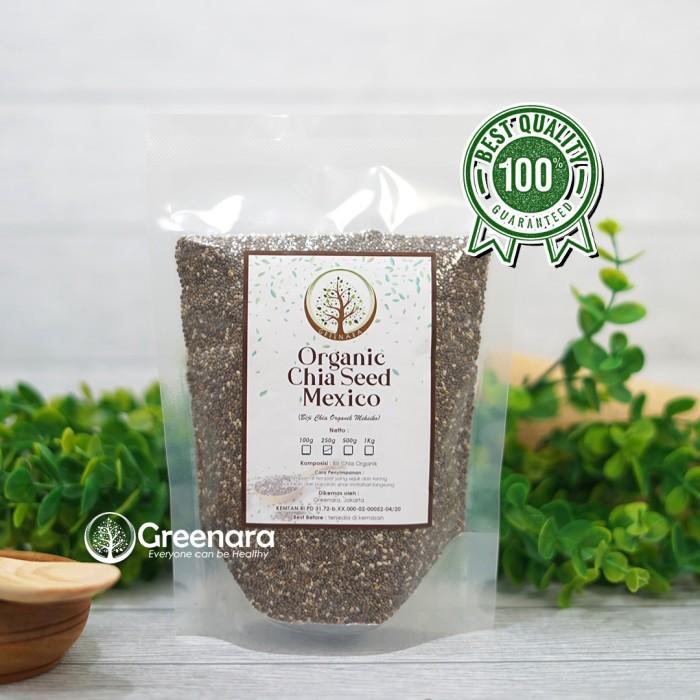 Foto Produk Chia Seed Mexico Organic 250gr dari greenara.id