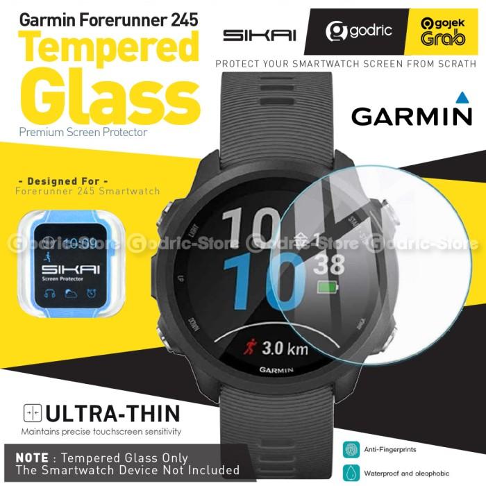 Foto Produk SIKAI Tempered Glass Anti Gores for GARMIN FORERUNNER 245 / 245M MUSIC dari Godric Store
