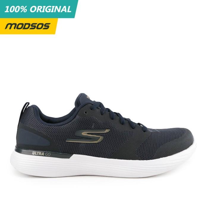 Foto Produk Sepatu Lari Pria Skechers Go Run 400 V2 Navy Original dari Modsos