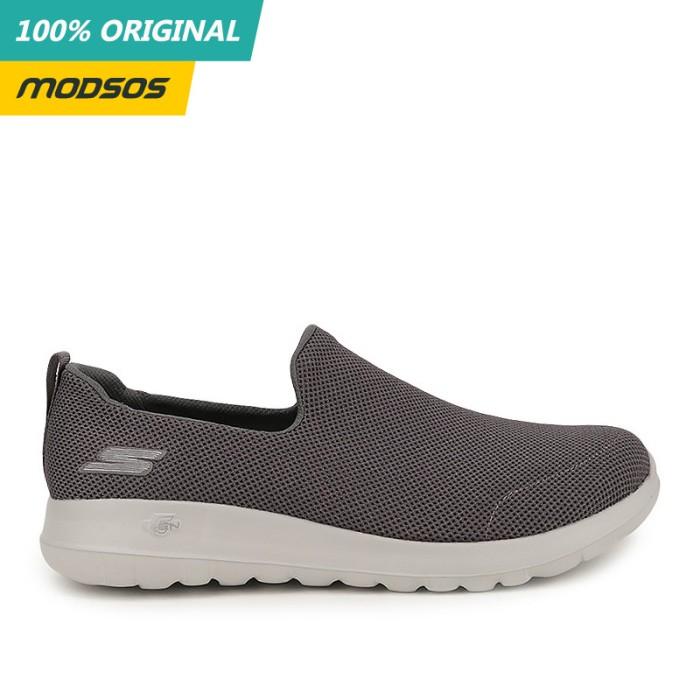Foto Produk Sepatu Slip On Pria Skechers Go Walk Max Grey Original dari Modsos