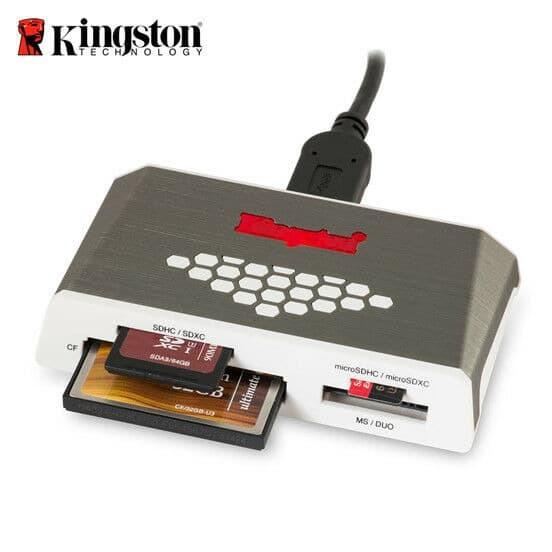 Foto Produk Card Reader Kingson FCR-HS4 FCR HS 4 USB 3.0 High-Speed dari PojokITcom Pusat IT Comp