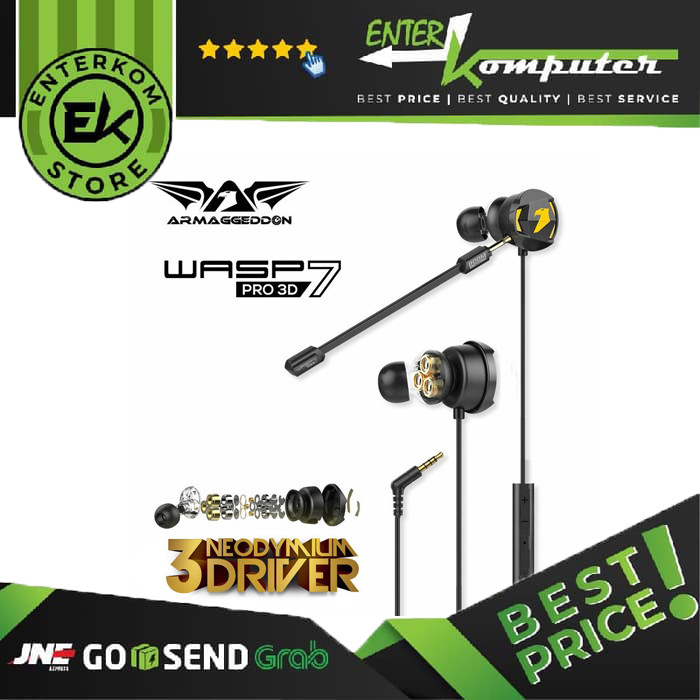 Sonic Gear Armaggeddon WASP-7 Gaming Earphone