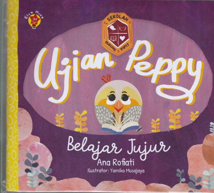 Foto Produk Sekolah Burung Pipit - Ujian Peppy - Belajar Jujur - UR dari Toko Buku Uranus