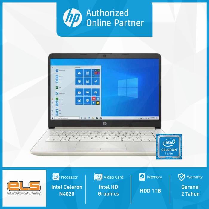 Foto Produk HP 14s-cf2017TU - Silver [N4020-4GB-1TB-W10-OHS] dari ELS Computer