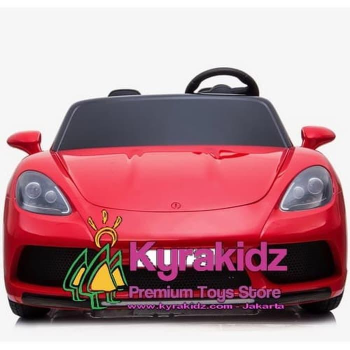 Foto Produk Mainan Anak Mobil Aki Porsche Jumbo bisa orang dewasa dari KYRAKIDZ