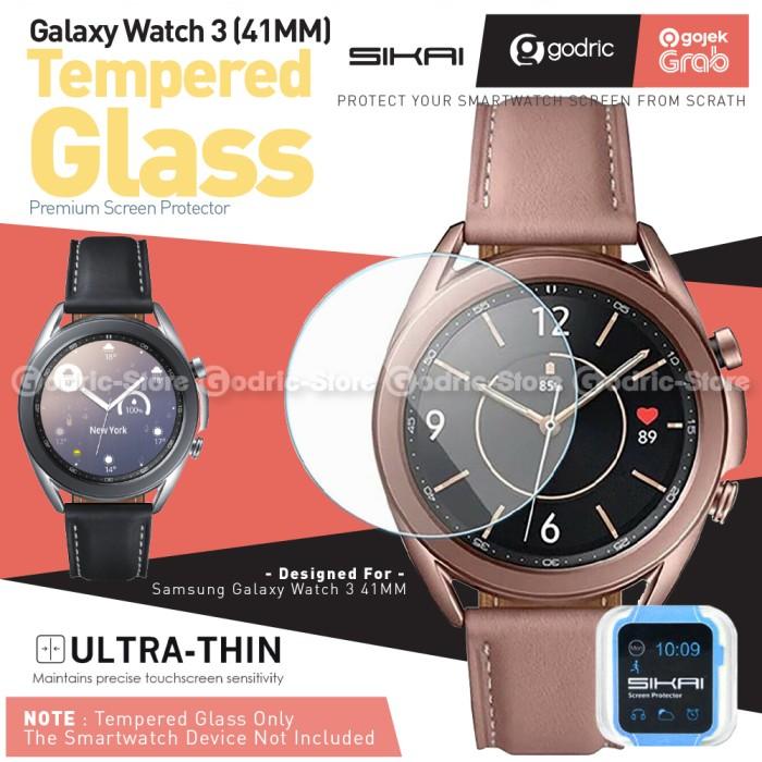 Foto Produk SIKAI Tempered Glass Screen Protector for Samsung Galaxy Watch 3 41MM dari Godric Store