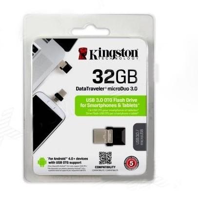 Foto Produk OTG Kingston Data Traveler microDuo G2 32GB USB 3.0 DTDUO3G2 32 gb dari PojokITcom Pusat IT Comp