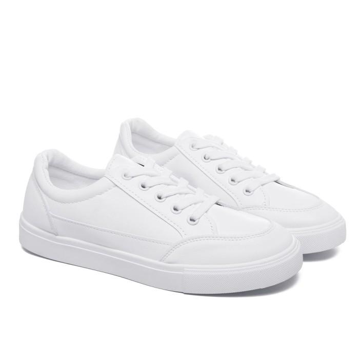 Foto Produk PVN Sepatu Sneakers Wanita Import 479 - white white, 39 dari PVN Official Store