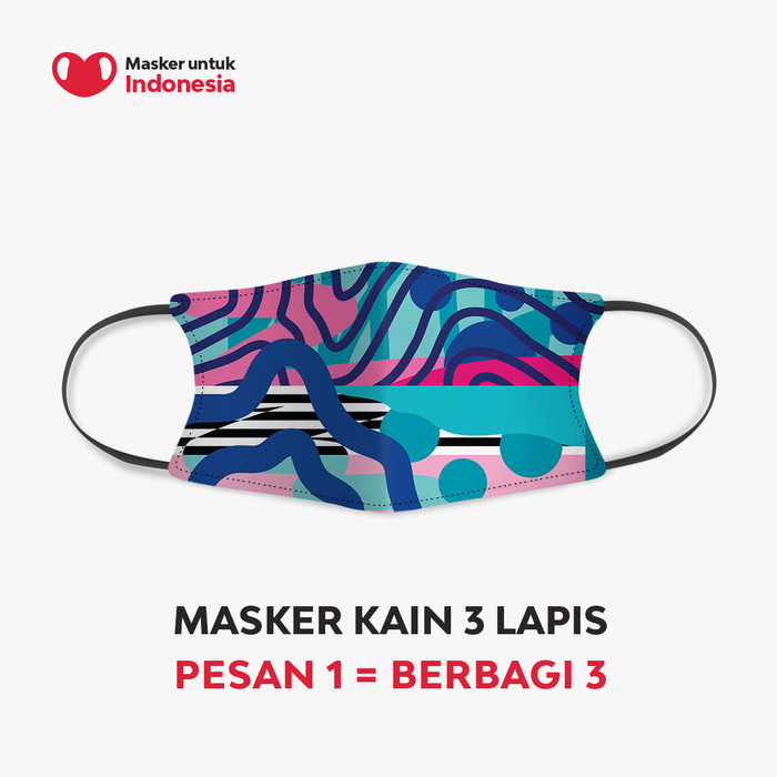 Foto Produk Stereoflow x Masker untuk Indonesia dari Masker untuk Indonesia