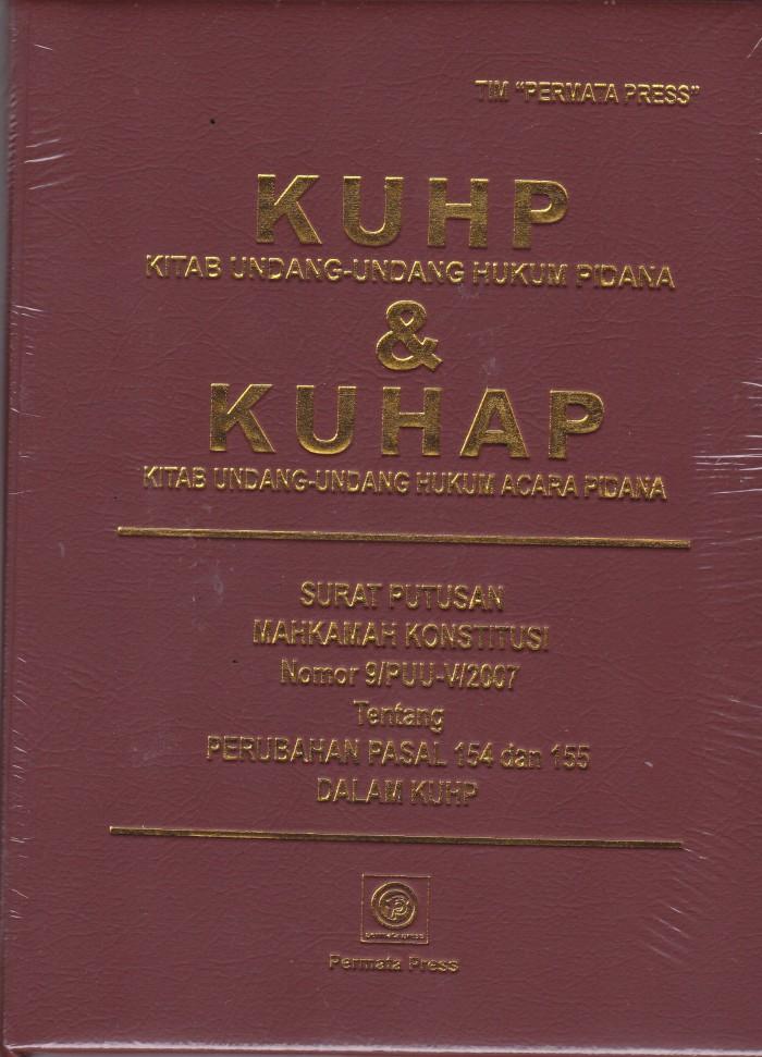 Foto Produk KUHP & KUHAP - Permata Press - UR dari Toko Buku Uranus