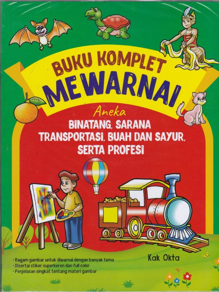 Foto Produk Komplet Mewarnai Aneka Binatang, Sarana Transportasi, Buah Sayur - UR dari Toko Buku Uranus