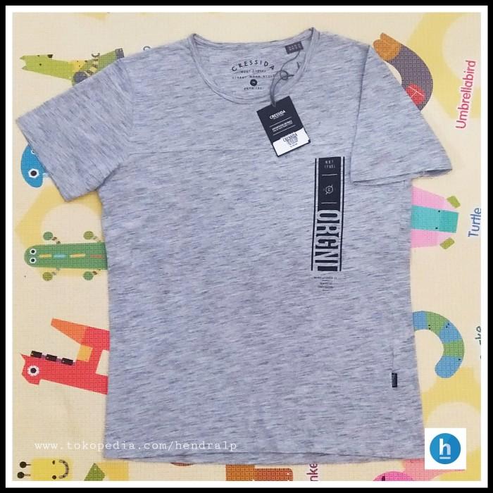 Foto Produk Kaos Cressida Original -Grey M dari hendralp
