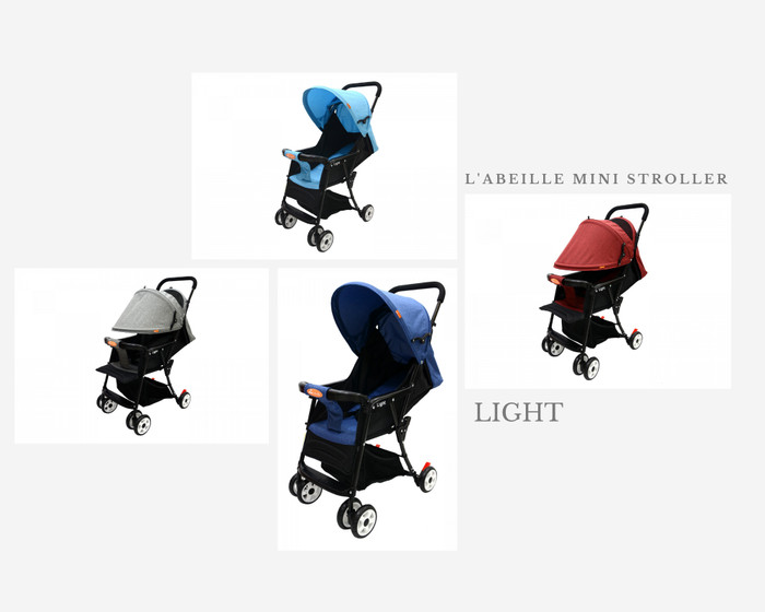 Foto Produk L'abeille Stroller light |Stroller Bayi - Abu abu dari Littlemore