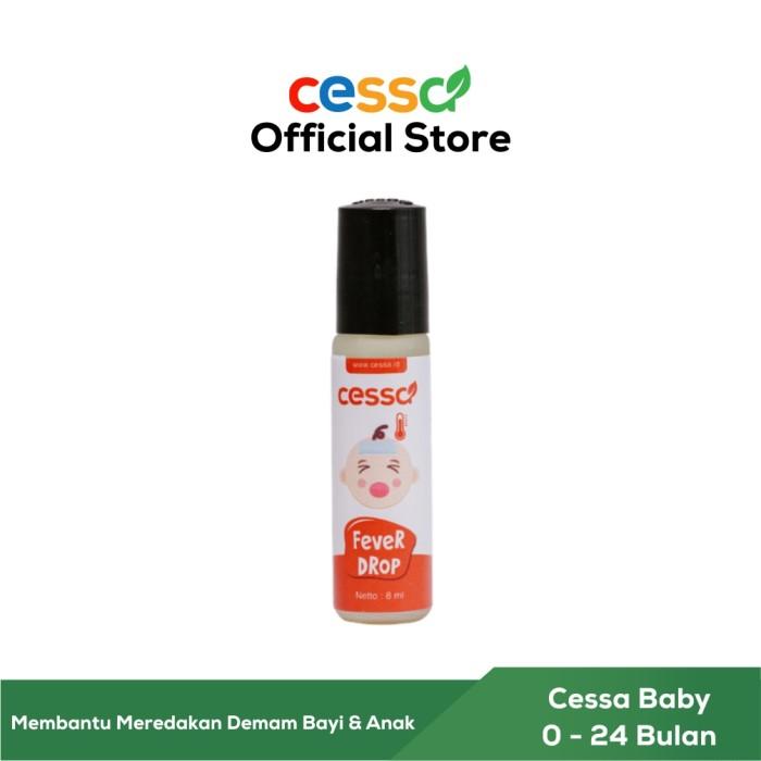 Foto Produk Cessa Fever Drop - Essential Oil Penurun Demam Bayi / Anak dari Cessa Natural
