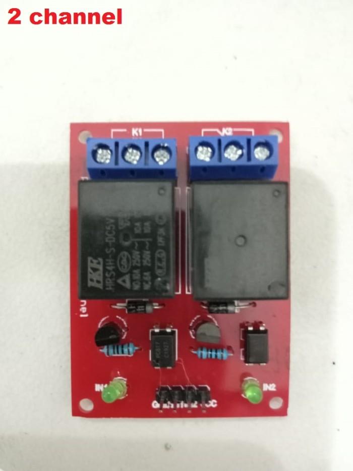 Foto Produk Relay module 2 channel 5V 10A 2channel dari RAFTECH